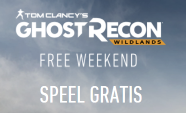 Speel Ghost Recon: Wildlands Gratis
