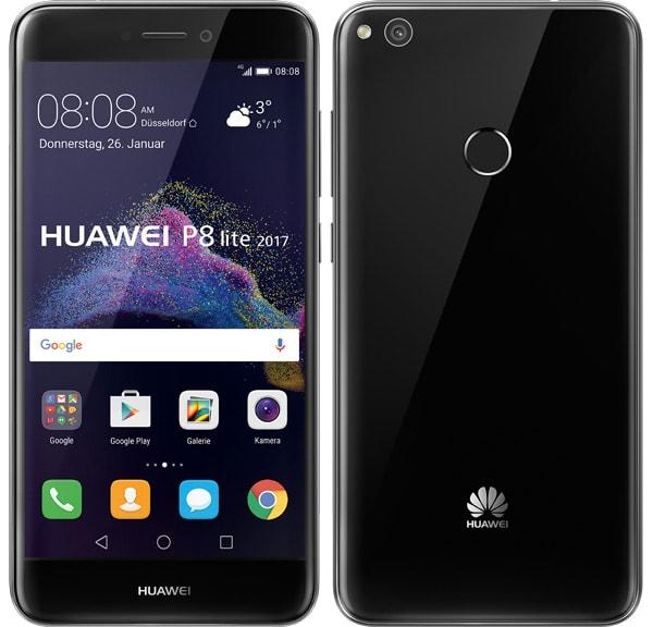 Huawei P8 Lite (2017) Dual Sim zwart voor €179