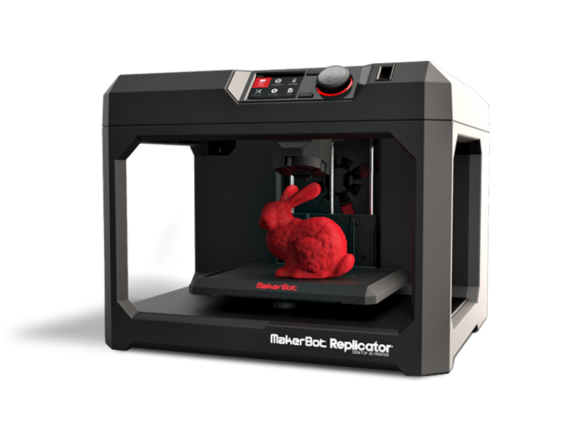 MakerBot Replicator 5e generatie Desktop 3D Printer voor €650