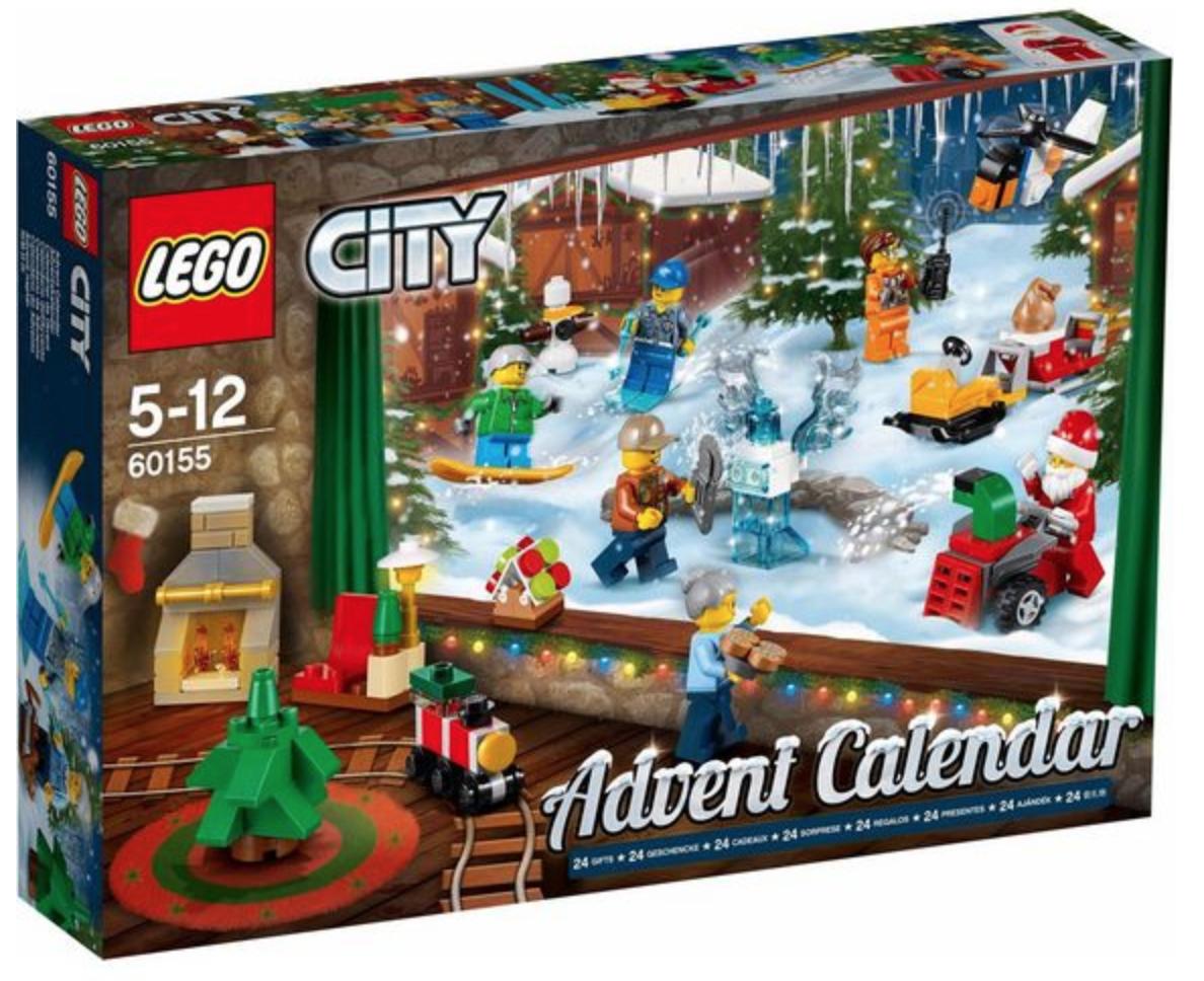 LEGO City Adventskalender 2017 - 60155 voor €14,94 dmv code