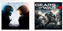 Bundel Gears of War 4 en Halo 5: Guardians Xbox One (X) voor €34,99