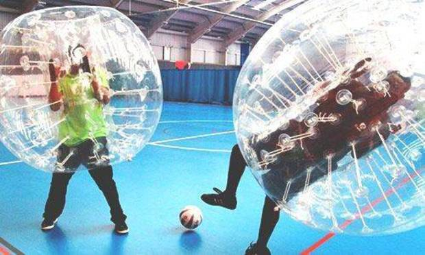Cambridge Stag Party Ideas and Activities - Bubble Football Package