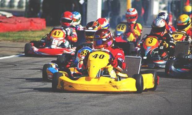 Cambridge Stag Party Ideas and Activities - Outdoor Karting Package