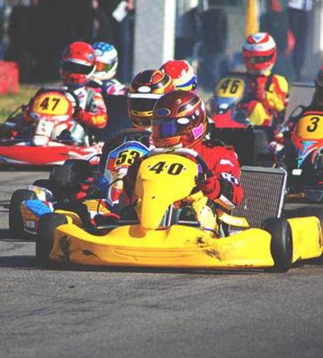 Cambridge Stag Do Ideas - Outdoor Karting