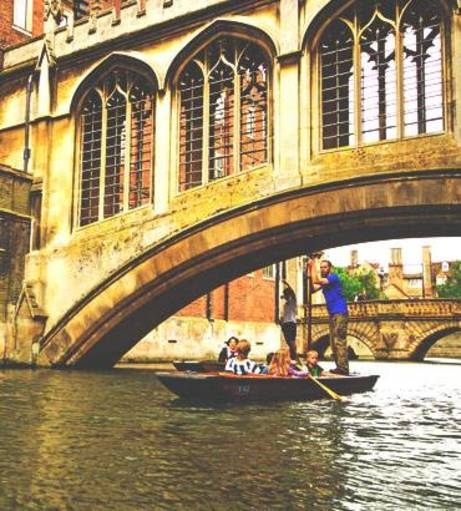 Cambridge Stag Do Ideas - Punting and Lesson