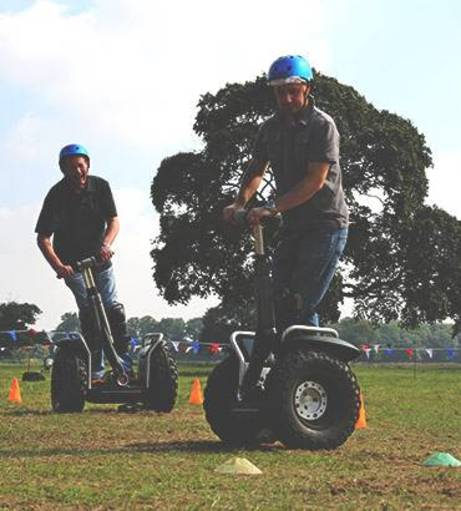 Reading Stag Do Ideas - Segways