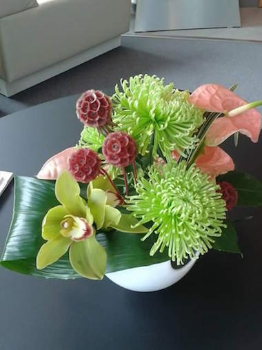 Corporate Flowers Design 3