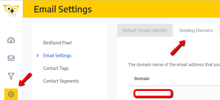 Birdsend - How to add sending domain if you're using GoDaddy