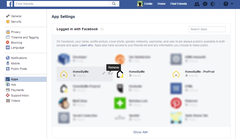 facebook home page login page inbox