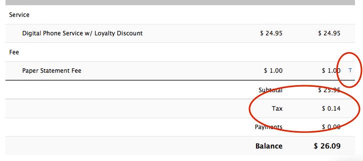 taxable invoice