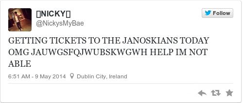 janoskians meet and greet tickets dublin