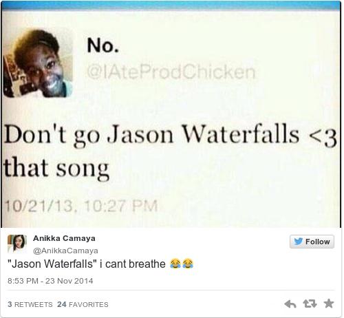 Go go jason waterfalls lyrics