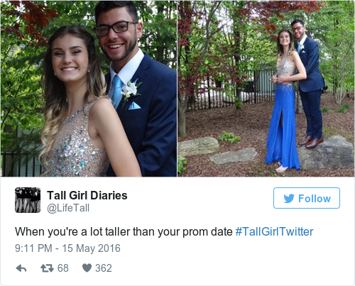 Dating a taller girl