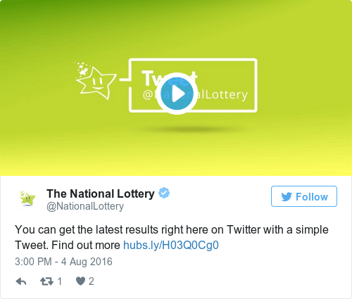 The latest Tweets from National Lottery (@BBClottery)  | mladacliomim gq