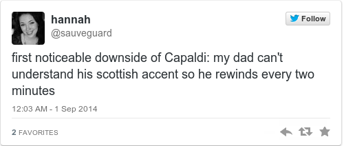 Is a scottish accent intimidating definition