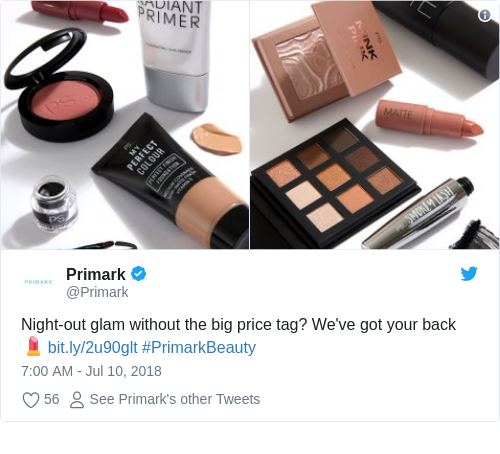 Beauty Products Primark: Penneys' Own Brand Makeup Has Just Been Certified 100