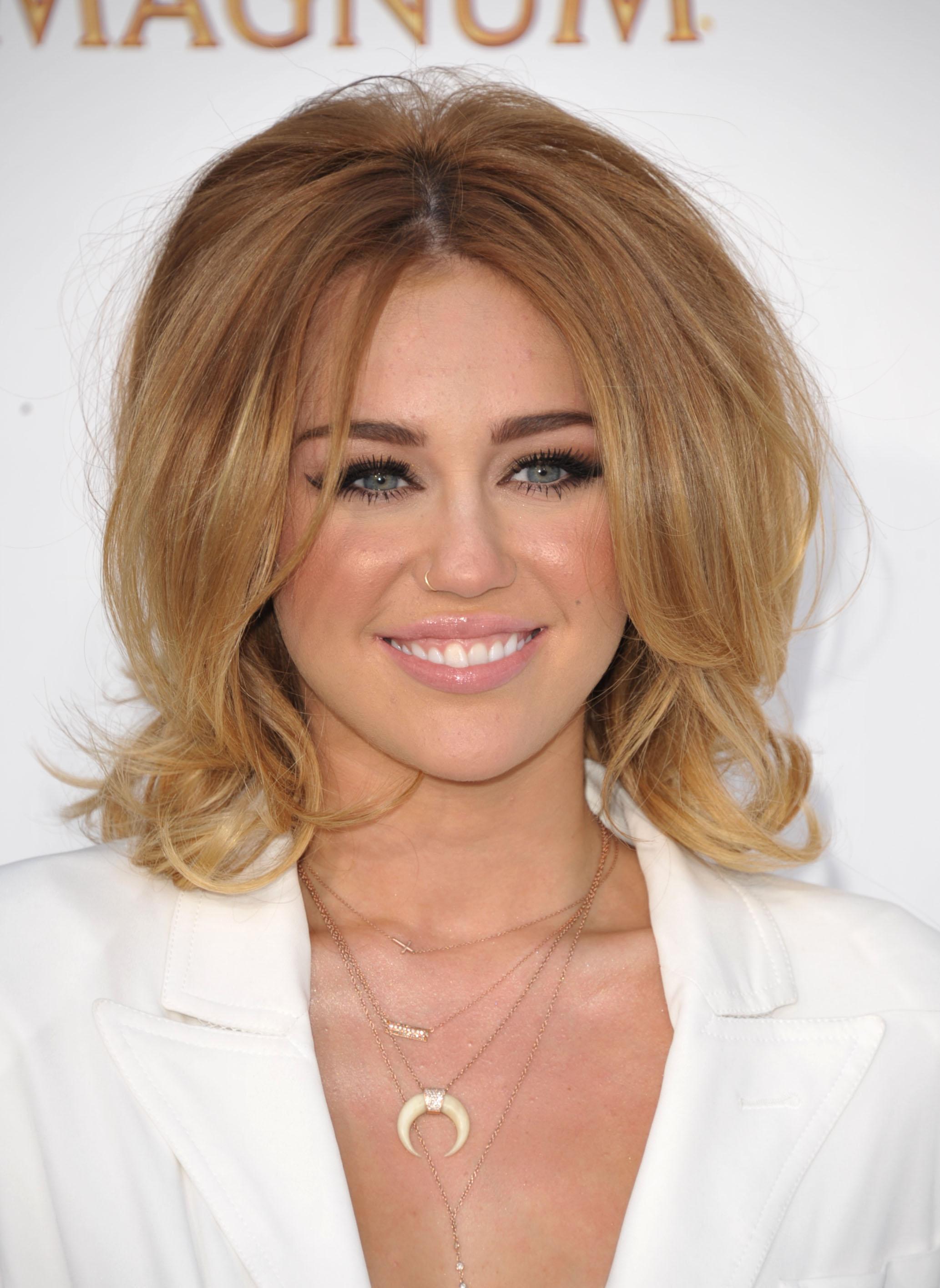 new hair cyrus Miley