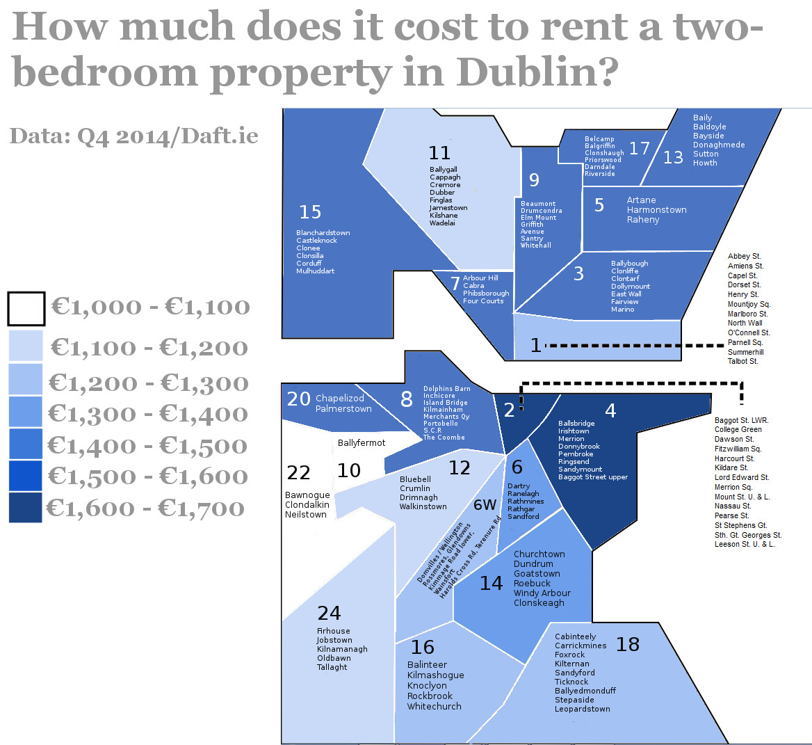 Cheap Place To Rent: Here Is What It Costs To Rent A Property In Ireland