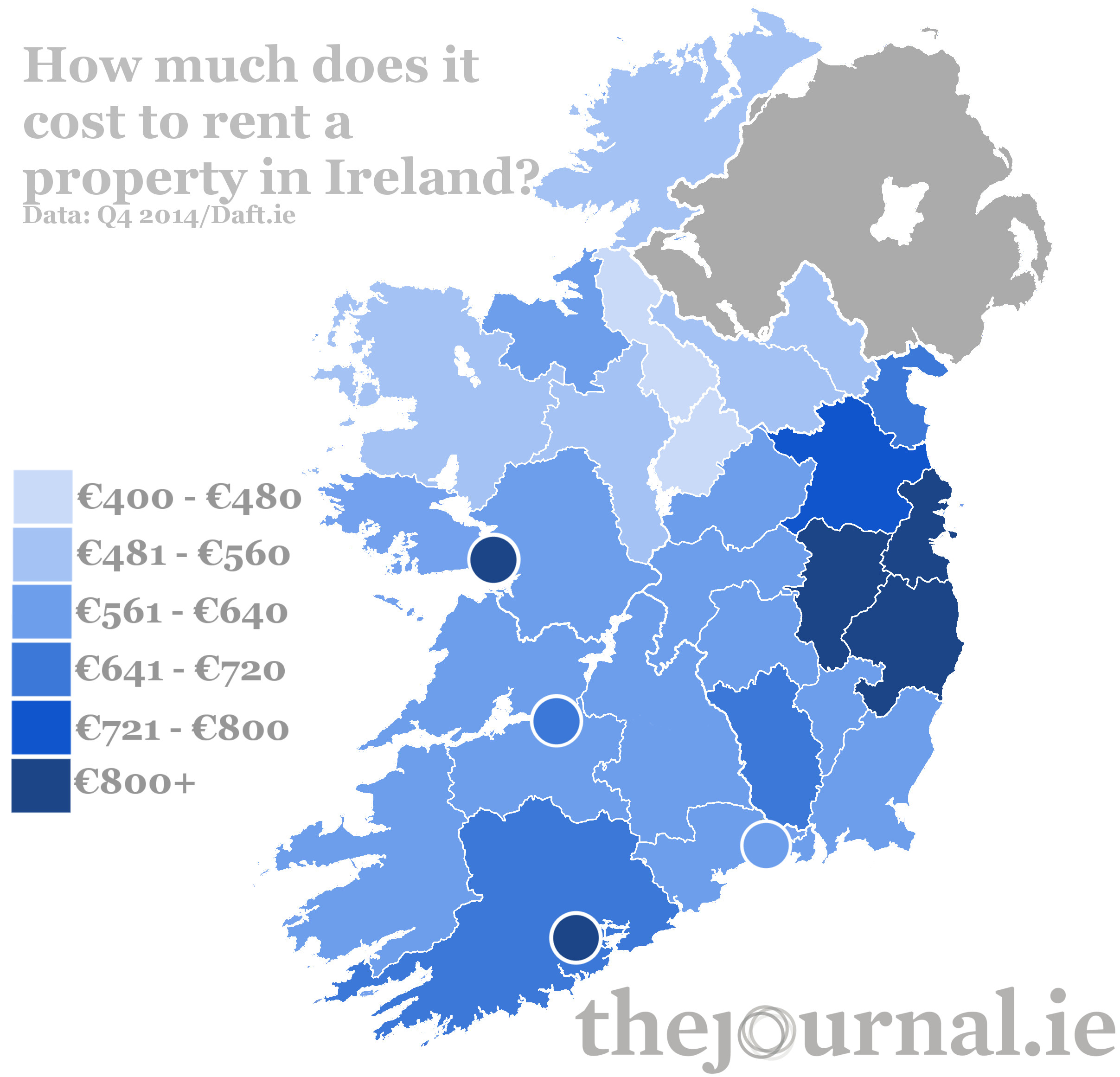 Looking For Place To Rent: Here Is What It Costs To Rent A Property In Ireland
