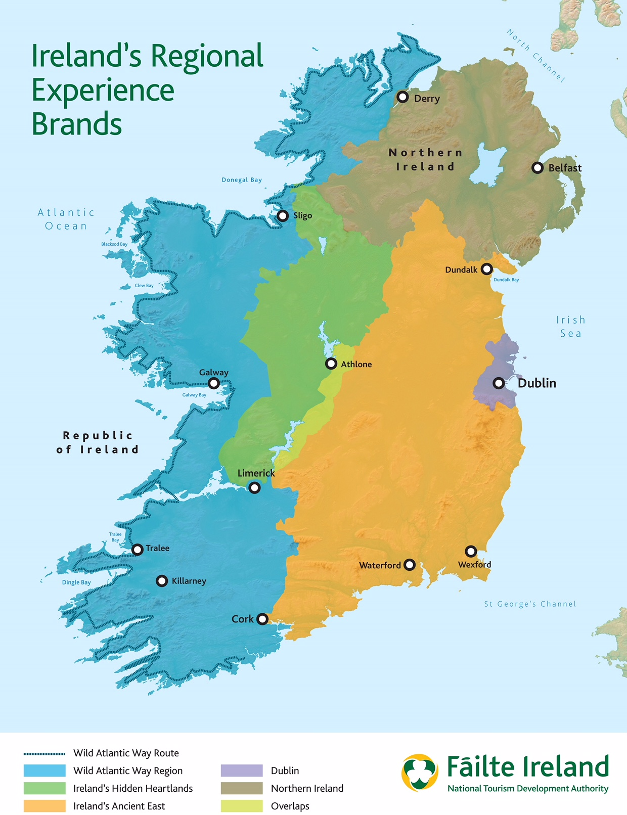 Dingle Map Of Ireland.The Midlands Long Awaited Tourism Brand Has Finally Been Revealed