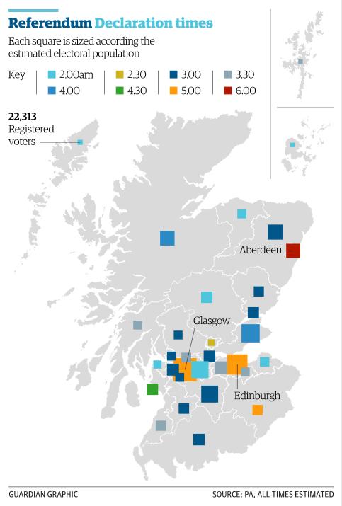 Cartina Scozia Politica.Il Liveblog Sul Referendum In Scozia Tpi