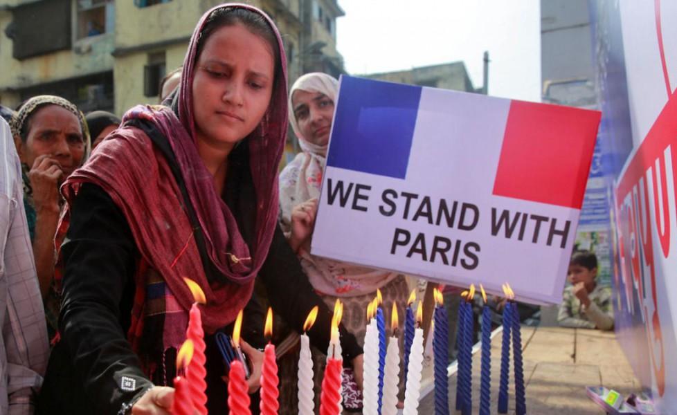 I musulmani europei contro gli attentati dell'Isis