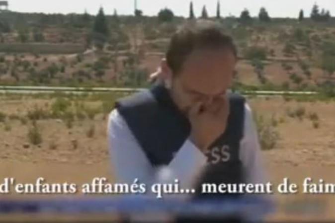 Aleppo, corrispondente di al-Jazeera scoppia in lacrime: