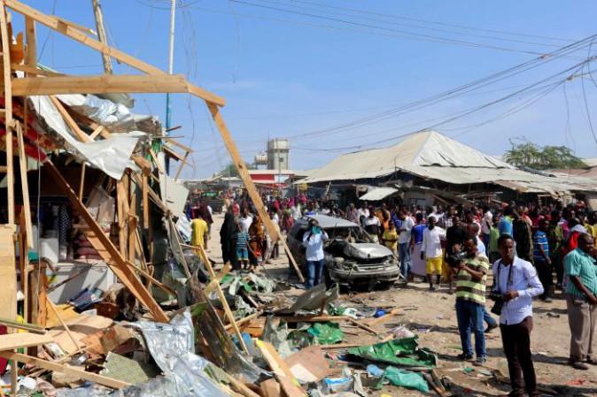 Attentato a Mogadiscio,almeno 35 morti