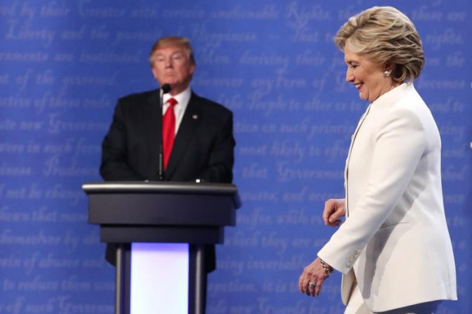 Usa, sondaggio choc: Trump supera Clinton