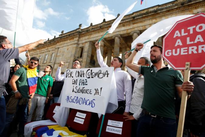 Colombia: in piazza per la Pace