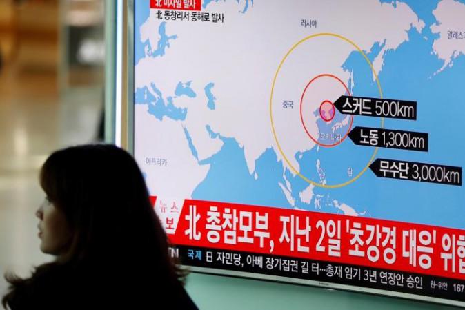 Corea del Nord lancia 4 missili verso il Giappone