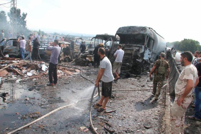 Siria:Sana; sale bilancio attentati autobomba,38 morti