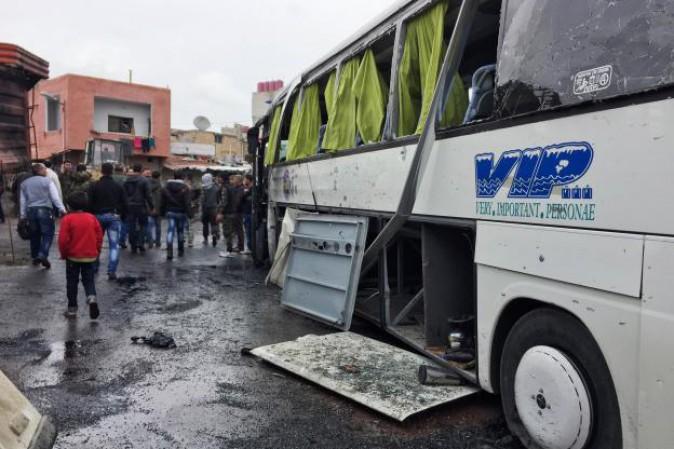Siria, due esplosioni a Damasco più di 40 morti e 100 feriti