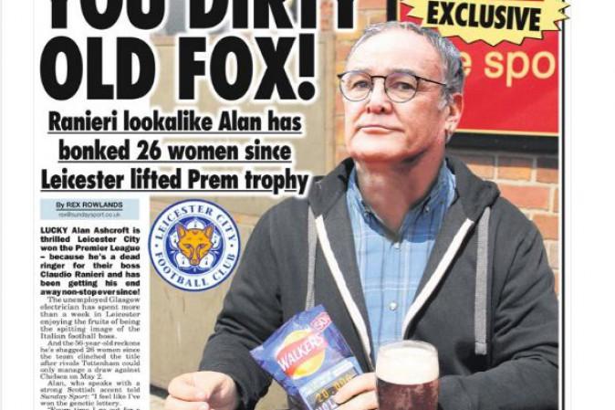 Sosia di Ranieri si porta a letto 26 donne