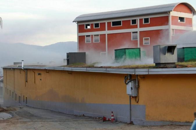 Incendio al poligono di Perosa, perde la vita il tiratore Michele Manconi