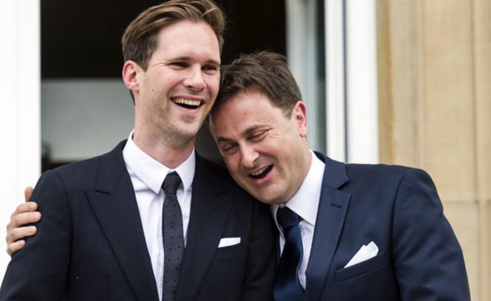 Risultati immagini per primo ministro lussemburgo e moglie