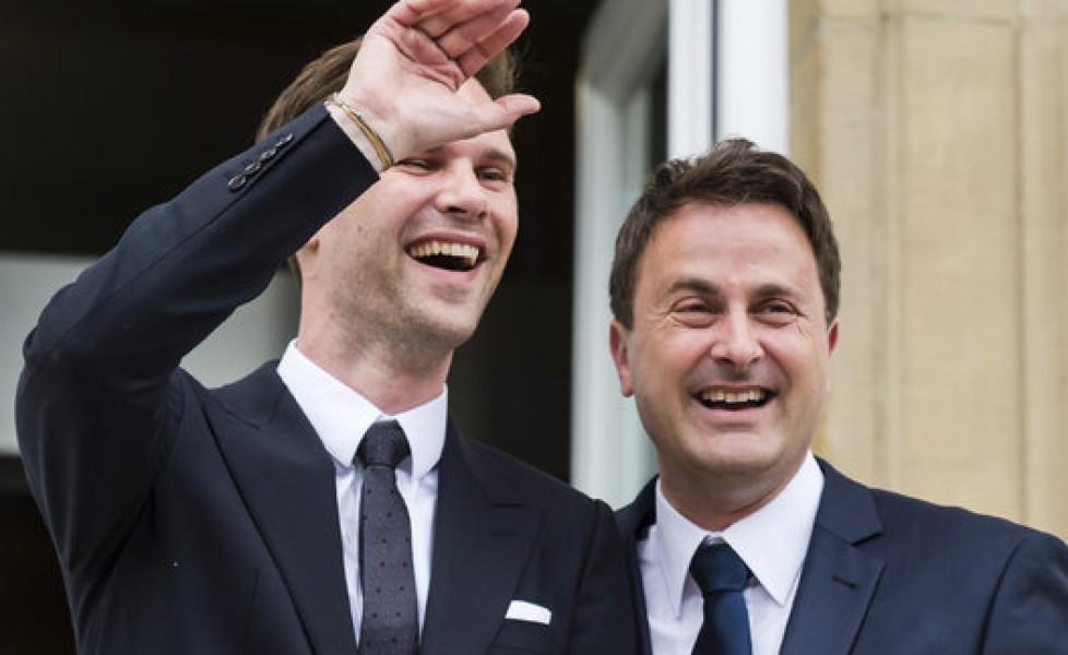 Matrimonio Uomo A Destra : Il premier del lussemburgo xavier bettel ha sposato un