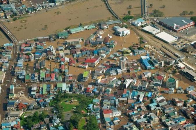 Giappone: 11 morti e 3 dispersi a causa di un tifone