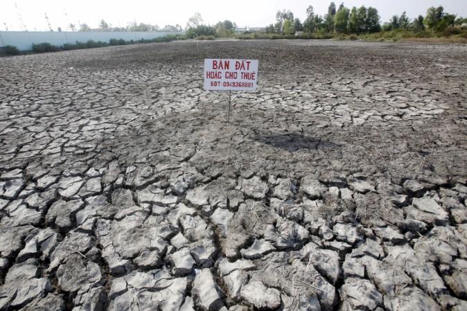 Una gravissima siccità ha colpito il Vietnam