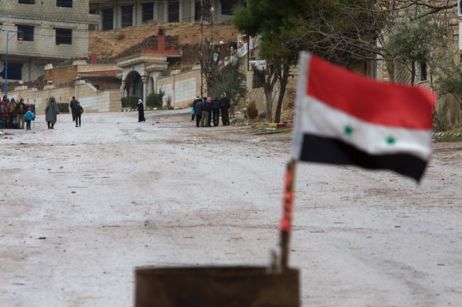 Siria, De Mistura