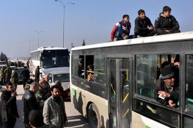 Siria, comincia l'evacuazione di 4 città assediate