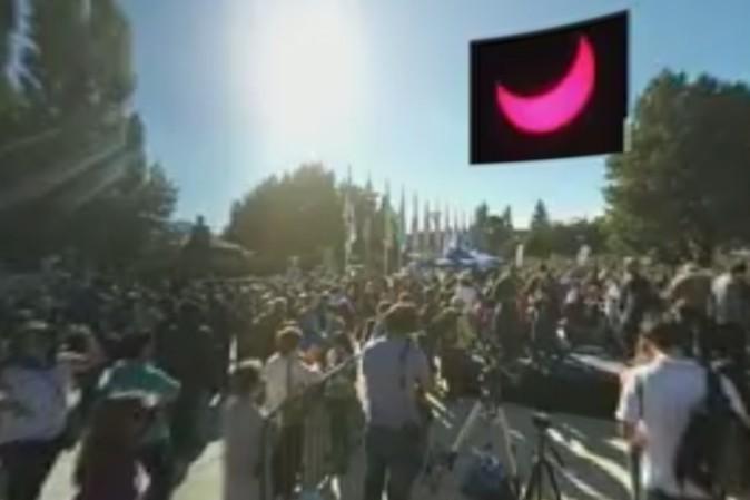 Eclissi solare 2017: anello di fuoco