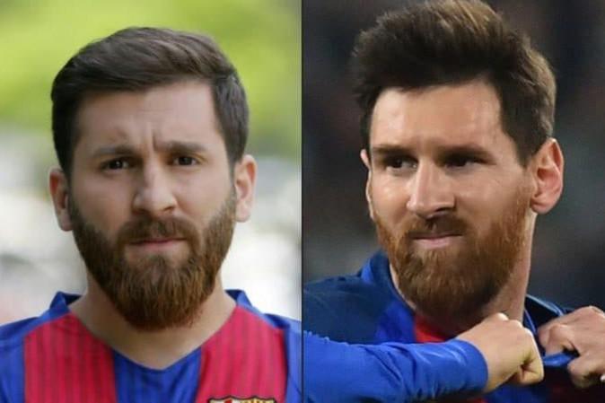 Il sosia di Messi fermato dalla polizia
