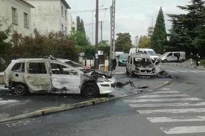 Parigi, molotov contro polizia: gravissimi due agenti