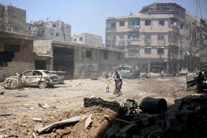 Siria: foto shock della strage dei bimbi