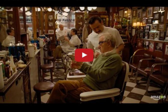 Woody Allen: diffusa una piccola anteprima della sua serie per Amazon