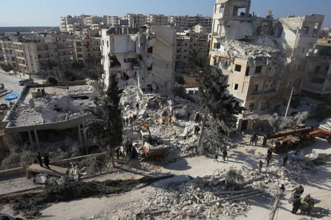 Siria, sospetto attacco con gas vicino a Idlib