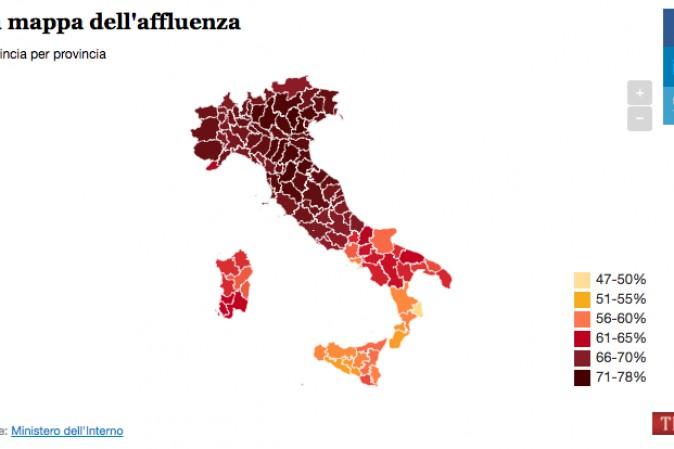 Referendum costituzionale: Como, affluenza 23,46% alle 12
