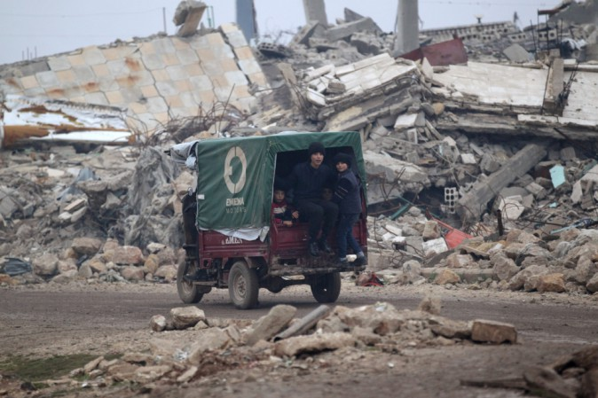 Siria, i ribelli: