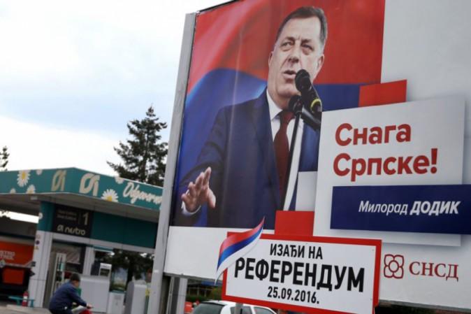 Referendum in Bosnia, leader serbo minaccia separazione